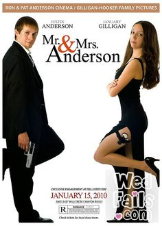 Mr & Mrs Smith save the date / wedding invation