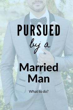 "Pursued By a Married Man! - God's Safety Many women face being pursued by a married man at some point in their life. Before you jump to thinking it's so easy to say ""no"" to a married man… think again! Christian Post, Christian Marriage, Christian Women, Christian Living, Marriage Life, Marriage Advice, Relationship Tips, Toxic Relationships, Dating Advice"