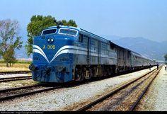 Net Photo: OSE Hellenic Railways Organization ALCO, at Serres Macedonia, Greece by Kostas Kakavas Location Map, Photo Location, Macedonia Greece, Locomotive, Trains, Community, Organization, Getting Organized, Organisation