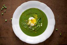 #Grüne #Spinat #Erbsen #Suppe