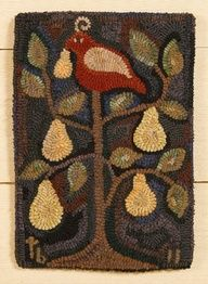 antique hand hooked rugs images - Google Search
