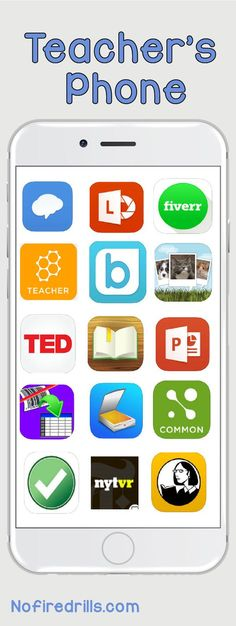 15 Teacher Apps that will make your classroom life easier!