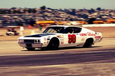 1969 Ford Torino Talladega. NASCAR stocker. Back when I liked it. When it was real.