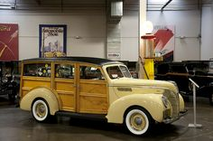 1939 Ford Model 91A Standard Woodie Station Wagon by Pat Durkin - Orange County, CA, via Flickr
