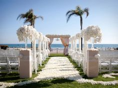 White Wedding Canopy.