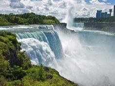 The New York side of Niagara Falls is a lot more than just the falls -- relive many of the stunts performed at Niagara Falls through memorabilia at the Daredevil Museum or visit the Niagara Wine Trail!