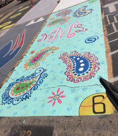 Painted parking spot at AHS Parking Space, Parking Lot, Car Parking, Parking Spot Painting, Senior Year, Senior 2018, Senior Activities, Space Painting, Cute Cars