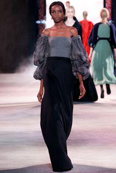 Ulyana Sergeenko Fall 2013 Couture Fashion Show - Maria Borges (Women)