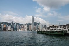 Victoria Harbour in Hongkong