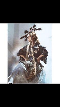 Headdress by House of Malakai