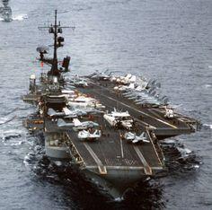 USS Coral Sea CV-43 | CVW-13 aboard USS Coral Sea (CV 43) - January 1986