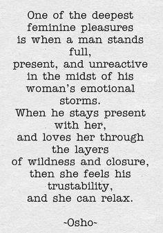 Then she feels