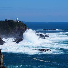 【tubuan0921】さんのInstagramをピンしています。 《潮岬 波の音が凄い!  #旅 #一人旅 #一眼レフ #ツーリング #秋 #海 #和歌山 #潮岬 #japan #travel #photo #shionomisaki》