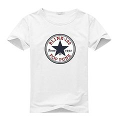 Blink 182 Men's Short Sleeve Tee Tshirt White - Brought to you by Avarsha.com