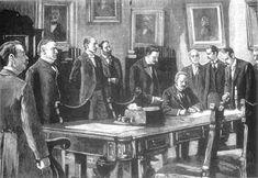 El 10 de diciembre de 1898 se firmó el Tratado de París, por el que Puerto Rico y el resto de los territorios coloniales (Cuba y Filipinas) del Imperio español se cedieron a los Estados Unidos, el 11 de abril de 1899. En 1900, la Ley Foraker creó un gobierno civil que reemplazó al gobierno militar de ocupación.