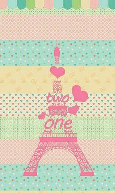 Colorful Paris Eiffel Wallpaper
