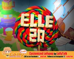 LollyTalk's huge lollypop spotted at ELLE 20 Sugar Rush Party celebrating ELLE 20th Anniversary! International fashion magazine such as ELLE chosen LollyTalk, how about you?