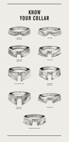 Know your collar! - Tu câte tipuri de gulere cunoști?