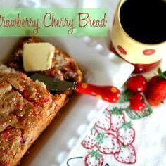 Strawberry Cherry Quick Bread