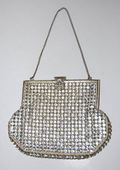 Evening in Paris Vintage Rhinestone Handbag