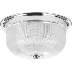 Progress Lighting Archie Collection 2-Light Chrome Flushmount-P3740-15 - The Home Depot