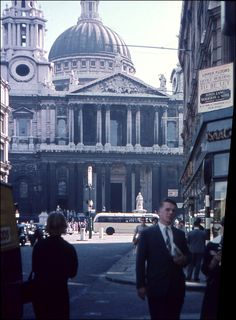 St Paul's Cathedral. 1959