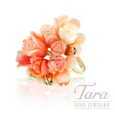 We have a large selection estate jewelry. We buy and sell antique and vintage estate jewelry. We serve the Atlanta area and have a friendly, knowledgeable staff. Coral Ring, Selling Antiques, Jewelry Companies, Atlanta, Floral Wreath, Fine Jewelry, Stud Earrings, Yellow, Flowers