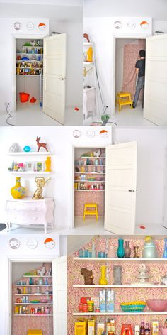 Another kind of a walk-in closet ;)