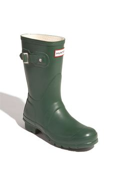 It's officially FALL! I got these today!Hunter 'Original Short' Rain Boot (Women) | Nordstrom