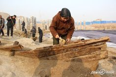 Ancient ship wreckage discovered in Xi'an - China.org.cn