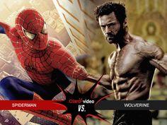 Es hora de que se enfrenten dos estrellas del cómic de Marvel: Spiderman vs Wolverine #MesdelSuperhéroe