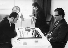 Lubomir Kavalek vs Bent Larsen. 1970, Lugano, Switzerland
