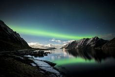 Night at Norway's Lofoten Islands