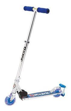 Razor Spark DLX Kick Scooter (Blue) - Light Up Your Ride! by ET, http://www.amazon.ca/dp/B002M9WW08/ref=cm_sw_r_pi_dp_8nADsb10MVWS7