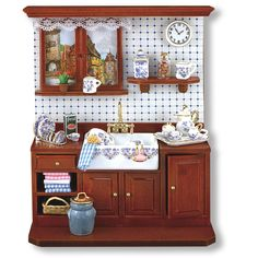 Country Kitchen Wall Display