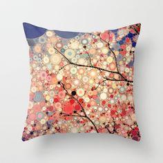 Positive Energy Throw Pillow by Olivia Joy StClaire - $20.00