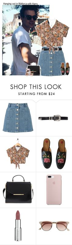 """""""#2096"""" by sofi-camacho ❤ liked on Polyvore featuring Miss Selfridge, Motel, Gucci, Ted Baker, Givenchy, Witchery, Charlotte Russe, OneDirection, harrystyles and 1d"""
