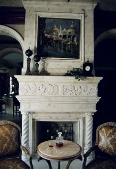 Fireplace Design, Fireplaces, Design Inspiration, Interiors, Architecture, Home Decor, Fireplace Set, Arquitetura, Fire Places