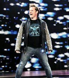 Bray Wyatt interrupts Chris Jericho on Raw. Wwe Chris Jericho, Bray Wyatt, Wwe Tna, Wrestling Superstars, Future Husband, Bomber Jacket, Punk, Universe, Lion