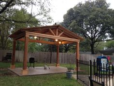 Covered Pergolas Made Of Pure Redwood Outdoor Ideas Pinterest