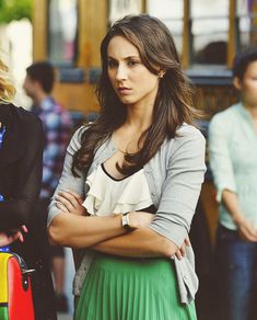 "I'm ashamed to admit it, but I like ""Pretty Little Liars."" Spencer is my favorite!"