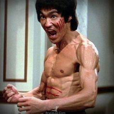 Bruce Lee In Enter The Dragon  #brucelee #bruceleequotes #kurttasche