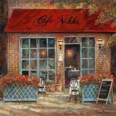 Café Nikki Art by Ruane Manning at AllPosters.com
