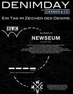 Denim Day at NEWSEUM by Crämer&Co. x Edwin