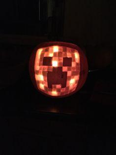 Creeper Pumpkin Minecraft Fun
