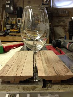 Cheers! Building Custom Wine Glass Storage - Old Town Home