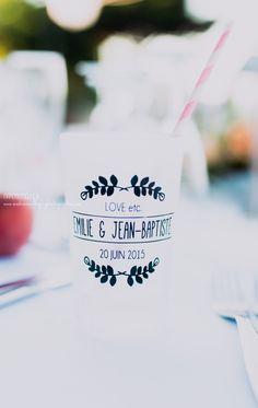 Gobelet réutilisable pour cocktail mariage