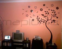 diseos de arboles pintados en paredes buscar con google