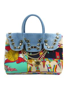 Borsa a mano Mia Bag Birkin bandiere. www.caterinaformentini.it