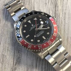 Get a classic for the weekend! Rolex GMT-Master II Coke bezel Get it now!